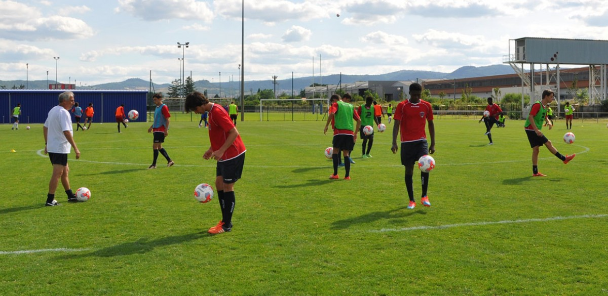 centre formation clermont foot