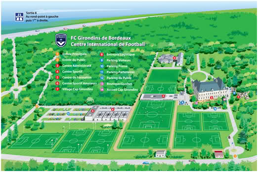 centre formation girondins