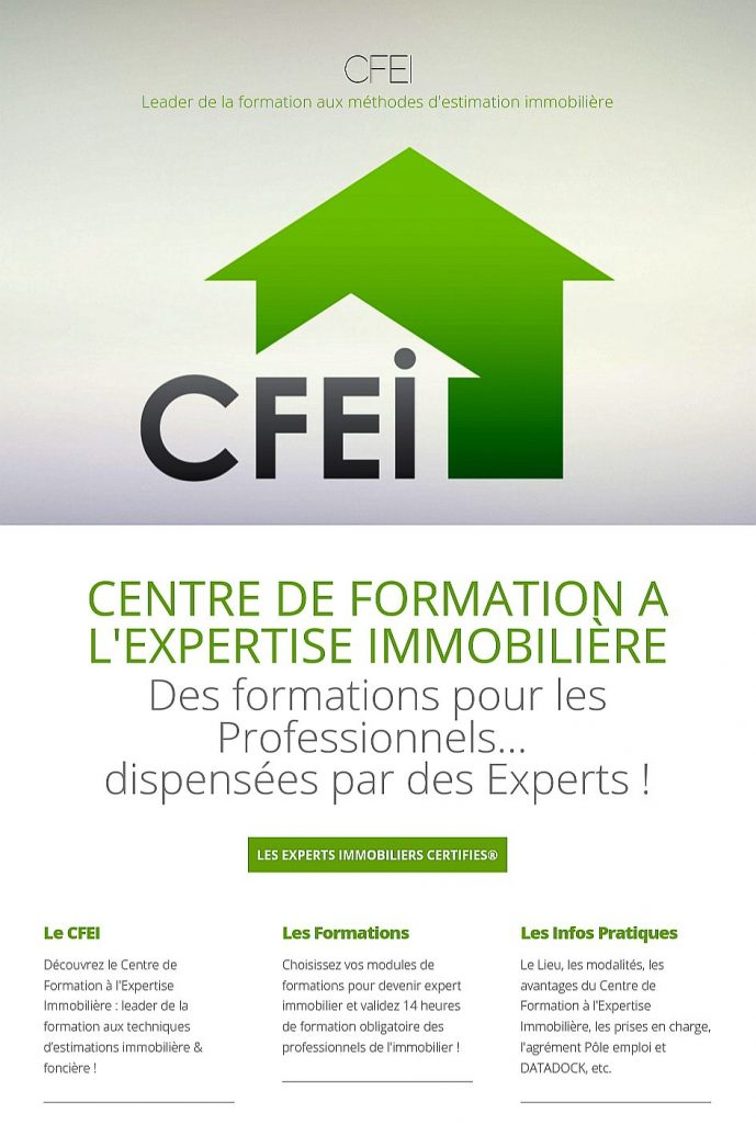 centre formation immobilier