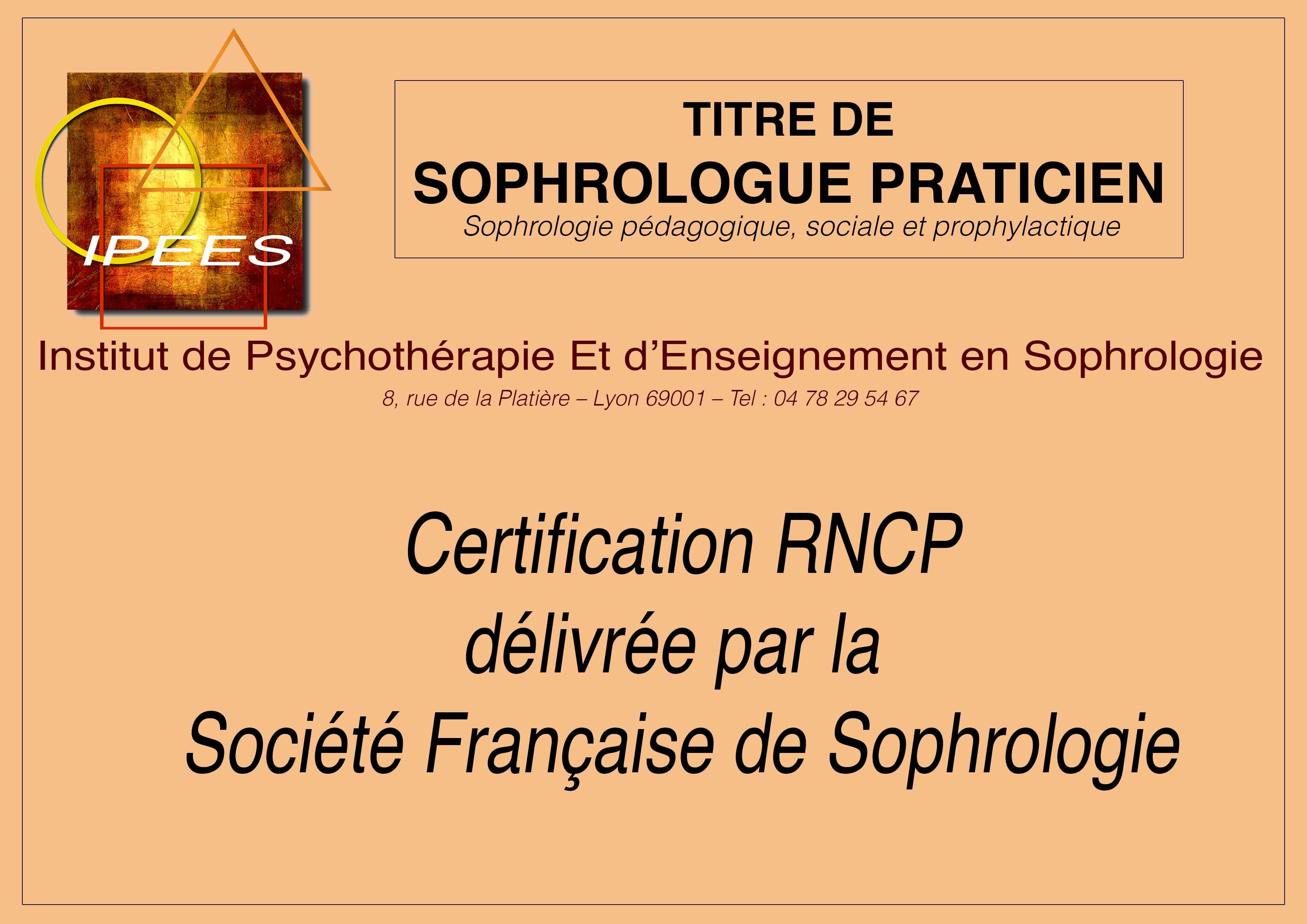 centre formation sophrologie