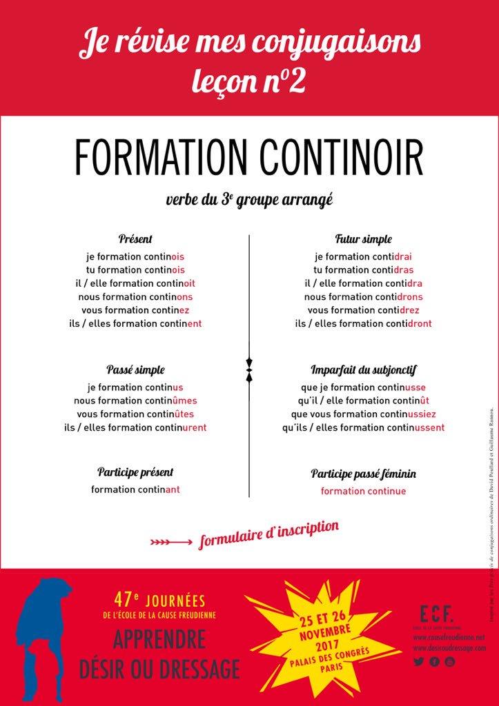 formation continue 47