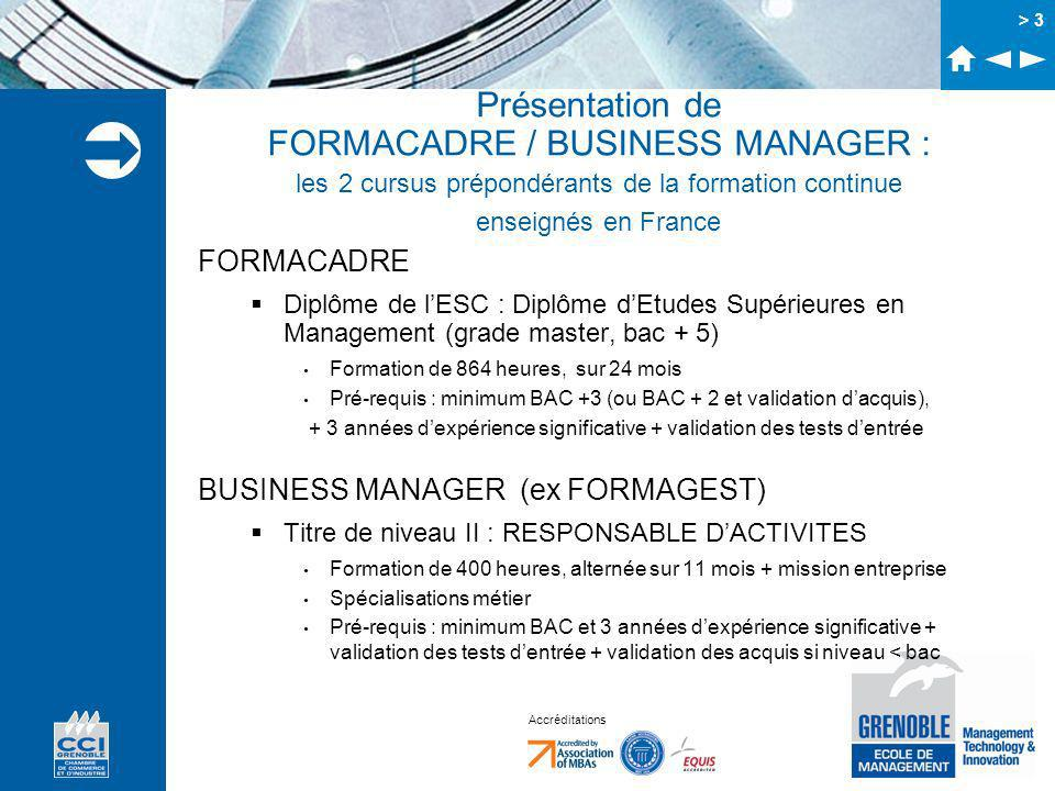 formation continue bac+5
