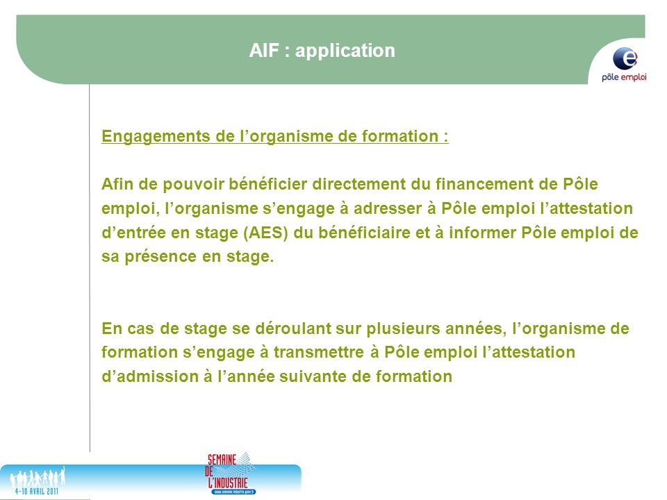 formation pole emploi 31