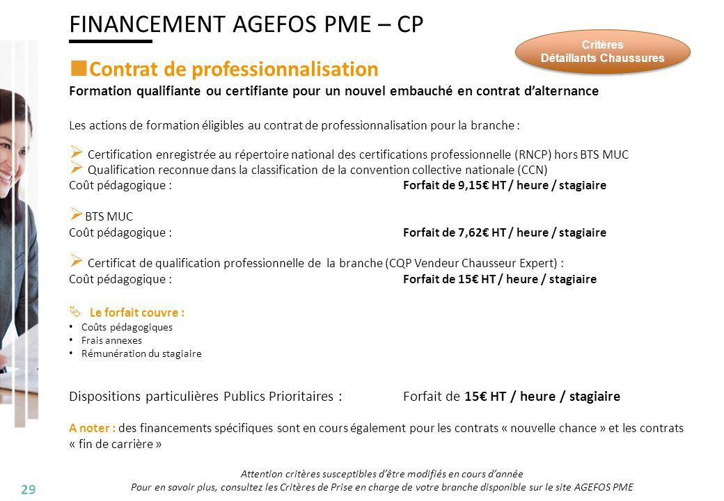 formation continue hors contrat pro
