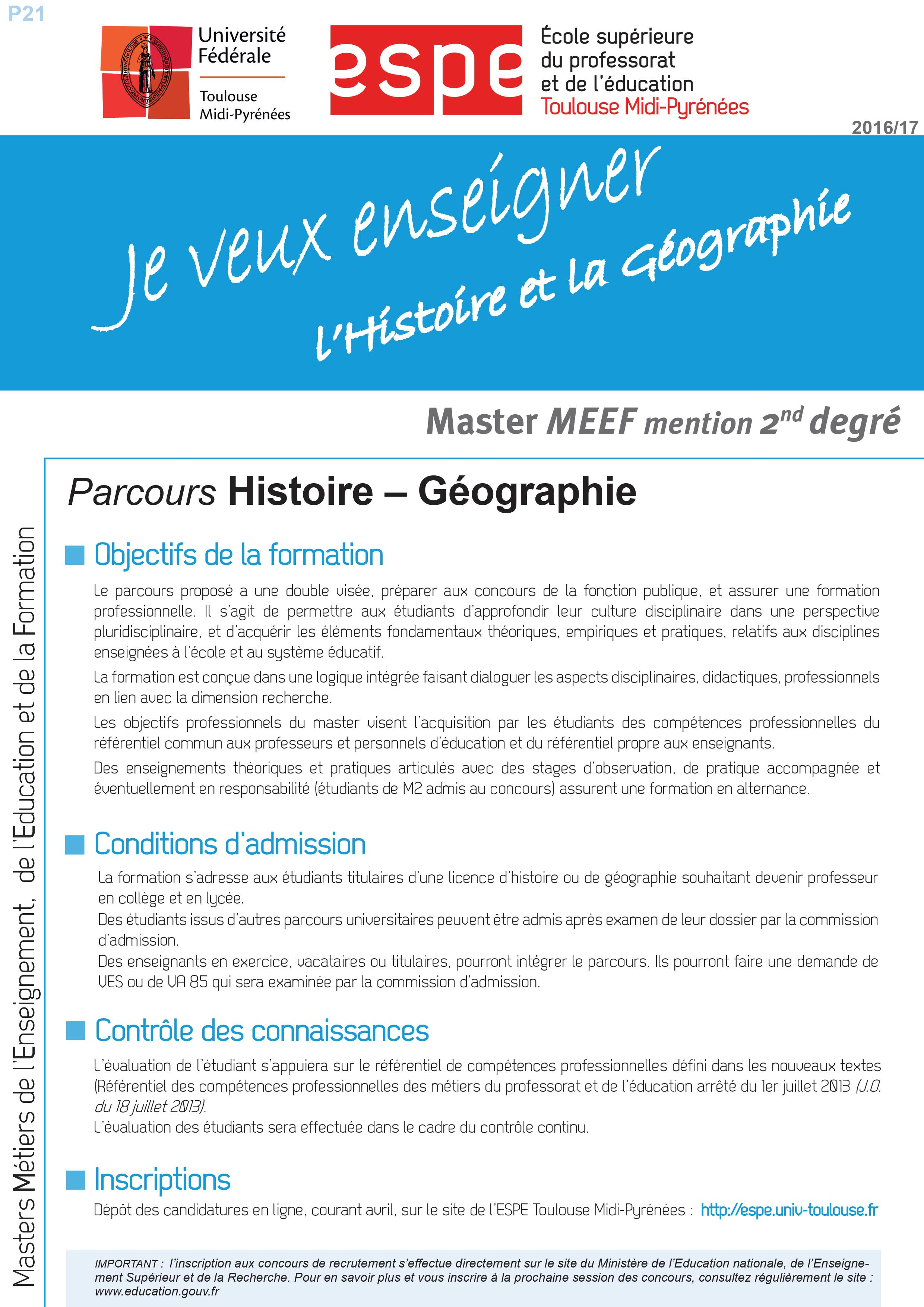 formation continue licence histoire
