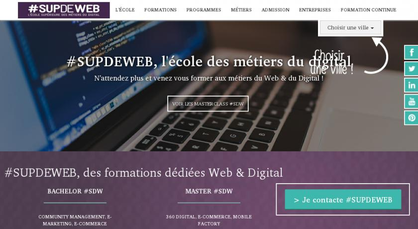 formation continue web toulouse