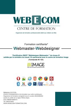 formation continue webmaster
