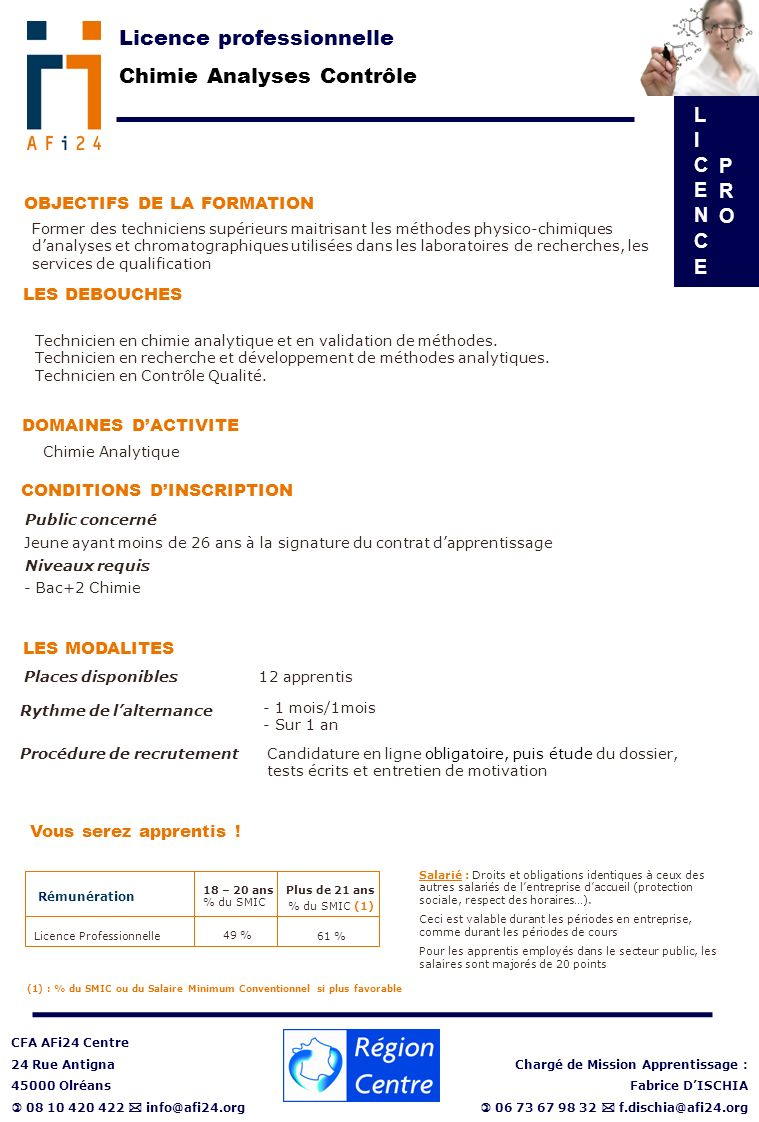 formation professionnelle 73