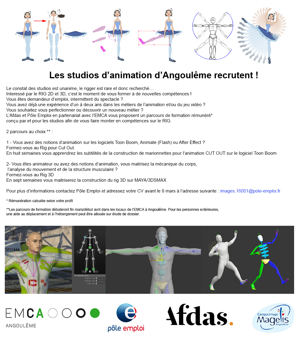 formation professionnelle animation