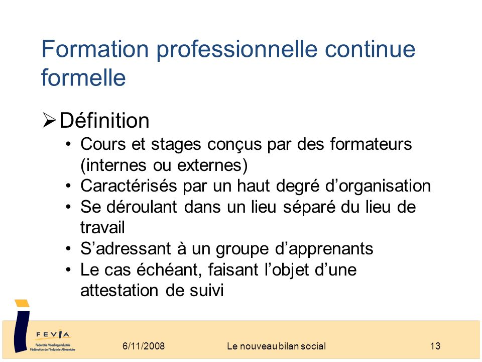 formation professionnelle def