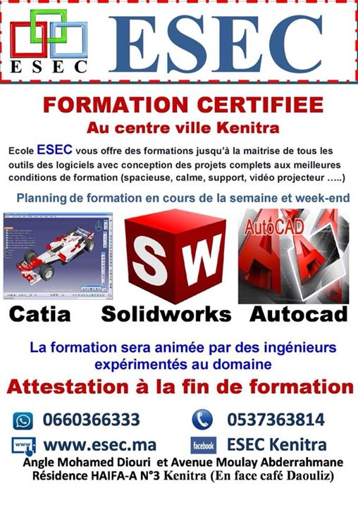 formation professionnelle kenitra