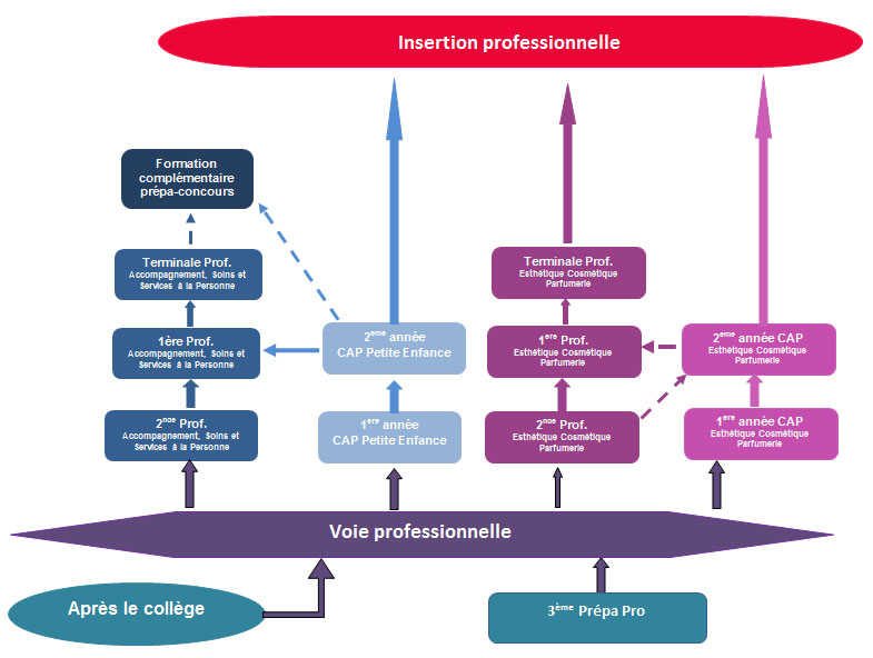 formation professionnelle lycee