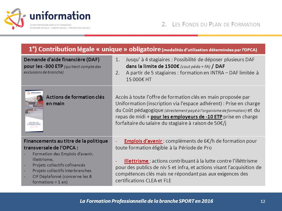 formation qui paye