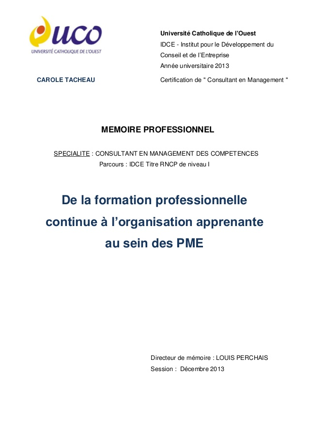 formation professionnelle tns