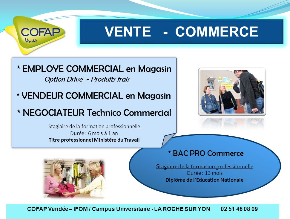 formation professionnelle vendee