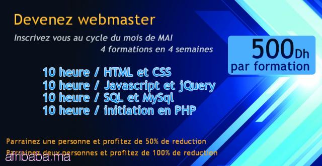 formation professionnelle webmaster
