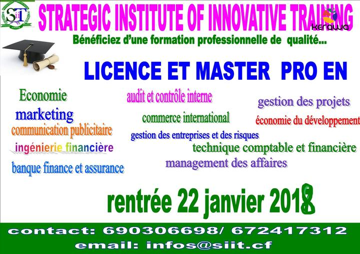 formation professionnelle yaounde